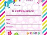Unicorn Birthday Invitations Free Printable Free Printable Golden Unicorn Birthday Invitation Template