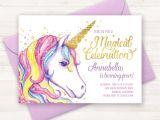 Unicorn Party Invitation Template Unicorn Invitation Unicorn Birthday Invitation Unicorn Party
