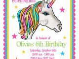 Unicorn Party Invitation Template Unicorn Invitations Unicorn Birthday Party Invitations