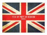 Union Jack Party Invitation Template Free Grunge Union Jack Party Invitation Uk Invitation Zazzle