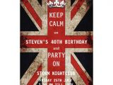 Union Jack Party Invitation Template Free Personalized Union Jack Invitations Custominvitations4u Com