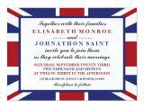 Union Jack Party Invitation Template Free Union Jack Flag British Wedding Invitation Zazzle Com