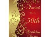 Unique 50th Birthday Invitation Ideas 50th Birthday Party Personalized Invitation