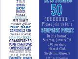 Unique 50th Birthday Invitation Ideas Unique Ideas for 50th Birthday Invitations Designs with