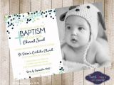 Unique Baptismal Invitation for Baby Boy Baptism Invitation Boy Baptism Invitations Baptism