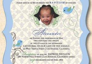 Unique Baptismal Invitation for Baby Boy Designs Baby Boy Christening Invitation Also Unique and
