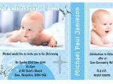Unique Baptismal Invitation for Baby Boy Invitation Card Christening Invitation Card Christening