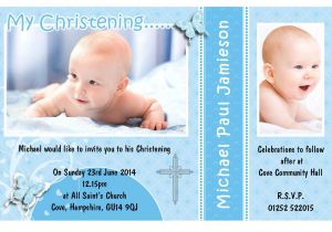 Unique Baptismal Invitation for Baby Boy Invitation Card Christening Invitation Card Christening