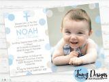 Unique Baptismal Invitation for Baby Boy Invitation for Baptism Invitation for Baptism Background