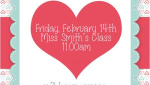 Valentine Party Invitation Template Valentine 39 S Day Party Free Printables How to Nest for Less