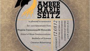 Vcu Graduation Invitations Graduation Announcements Ambermseitz