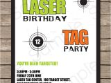 Ve Day Party Invitation Template Laser Tag Invitation Template Laser Tag Invitations