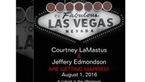 Vegas Wedding Invitation Template Las Vegas Destination Wedding Invitation Zazzle Com