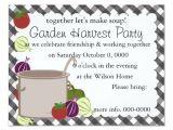 Vegetable Party Invitation Template A Pot Of soup Invitation Zazzle Com