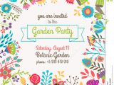 Vegetable Party Invitation Template Garden or Summer Party Invitation Template Poster Stock