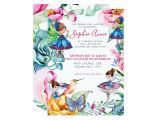 Vegetable Party Invitation Template Spring Fairy Birthday Party Invitation Zazzle Com Au