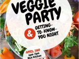 Vegetable Party Invitation Template Veggie Vegetable Party Flyer Template Postermywall