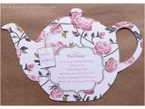 Victorian Tea Party Invitation Template 84 Best Diy Bridal Shower Invitations Images On Pinterest