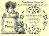 Victorian Tea Party Invitation Template Tea Party Games for A Fun and Fabulous Par Tea