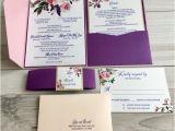 Vietnamese and English Wedding Invitation Template 6 Modern Bilingual Vietnamese English Wedding Invitations