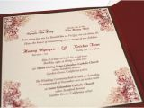 Vietnamese and English Wedding Invitation Template Bilingual English and Vietnamese oriental by
