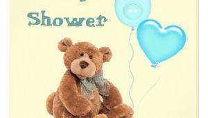 "Vintage Teddy Bear Baby Shower Invitations Vintage Teddy Bear Baby Shower Invitation 5 25"" Square"