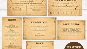 Vintage Train Ticket Wedding Invitation Template Vintage Train Ticket Wedding Invitation Template Printable