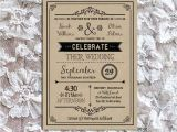 Vintage Wedding Invitation Template Vintage Rustic Diy Wedding Invitation Template