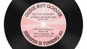 Vinyl Record Party Invitation 50th Birthday Invitations 10 000 50th Birthday Invites