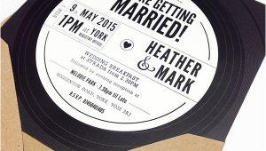 Vinyl Record Wedding Invitation Template Vinyl Record Wedding Invitation On Behance