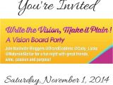 Vision Board Party Invitation Template 9 Best Write the Vision Vision Board Ideas Images On