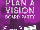 Vision Board Party Invitation Template How to Host A Vision Board Party Vision Board Party