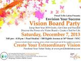 Vision Board Party Invitation Template Up Ing events