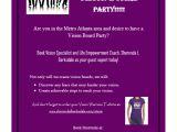Vision Board Party Invitation Wording Vision Board Party Invitation Invitation Librarry