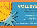 Volleyball Party Invitation Template Fantasy Sports Leagues Online Invitations Evite Com