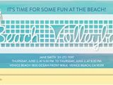Volleyball Party Invitation Template Summer Games Gold Medal and Sports Viewing Party Online