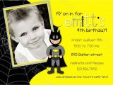 Walmart Customized Birthday Invitations Batman Birthday Invitations Walmart – Amazing Invitations