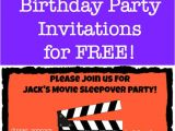 Websites to Make Birthday Invitations for Free How to Create Birthday Party Invitations Using Picmonkey