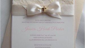 Wedding and Baptism Invitation Baptism Invitation Christening Invitation Wedding by