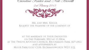 Wedding Dinner Invitation Text Message 5 formal Dinner Invitation Wording Examples