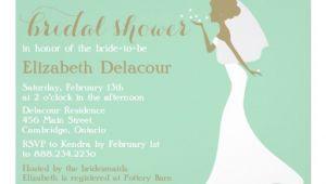 "Wedding Dress Cut Out Bridal Shower Invitations Mermaid Cut Wedding Gown Bridal Shower Invitation 5"" X 7"