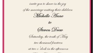 Wedding Invitation Both Parents Wording Samples How to Choose the Best Wedding Invitations Wording
