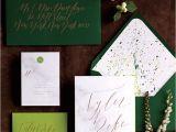 Wedding Invitation Designs Green 20 Prettiest Wedding Invitations