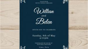 Wedding Invitation Designs Vector Wedding Card Invitation with Flowers Vector Free Download
