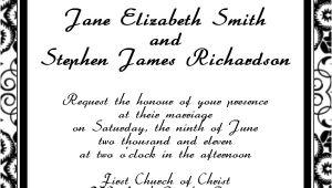 Wedding Invitation Layouts Free Free Printable Wedding Invitation Templates Hohmannnt