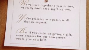 Wedding Invitation Monetary Gift Wording Wedding Invitation Wording for Monetary Gifts
