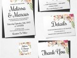 Wedding Invitation Template Buy 16 Printable Wedding Invitation Templates You Can Diy