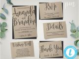 Wedding Invitation Template Buy Wedding Invitation Template Suite Calligraphy Script