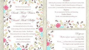 Wedding Invitation Template Etsy 13 Etsy Wedding Invite Templates Weddingmix