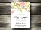 Wedding Invitation Template for Email 20 Email Invitation Templates Psd Ai Word Free